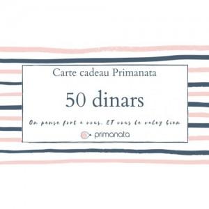 Carte Cadeau 50 DT